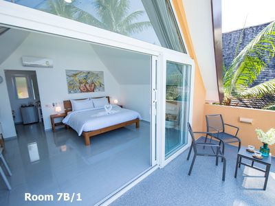 Photo for Sunset Emily Villas - ROOM 7B/1 - double bedroom with sea view & BREAKFAST