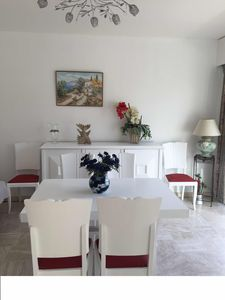 Photo for Beautiful bright apartment of 60 m2 air-conditioned quiet 100 m from the beach