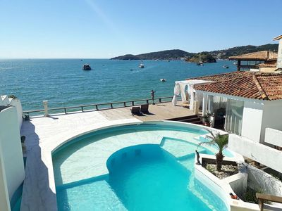 Photo for Charming And Elegant House With Pool, Sea View And Foot In The Sand Of Corner Beach
