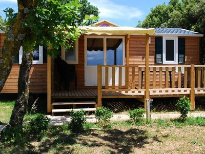 Photo for Camping Le Garrigon **** - Mobile Home Texas 4 Rooms 6/7 People