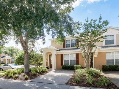 Photo for NEW LISTING! Disney getaway w/ private pool, shared hot tub & great location