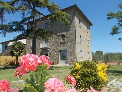 Photo for 9 bedroom Villa, sleeps 18 in Fratta-Santa Caterina with Pool and WiFi