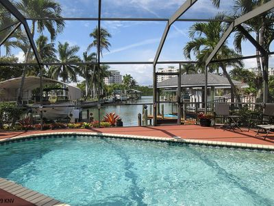 Photo for FABULOUS ORCHID HOUSE - THE EXECUTIVE DREAM ISLAND HOME.  BRING YOUR BOAT...WALK TO BEACH!