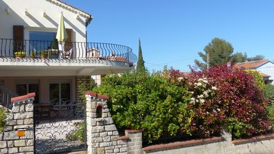 Photo for Toulon is, Bottom of villa 4 pers. quiet, terrace and garden 5 minutes from the beaches