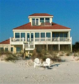 Homes, Laguna Key, Gulf Shores, AL, USA