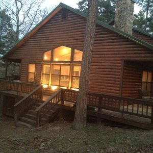 Photo for Private Family Friendly Cabin 3 Bdr/3 Baths with Wifi, pets ok.