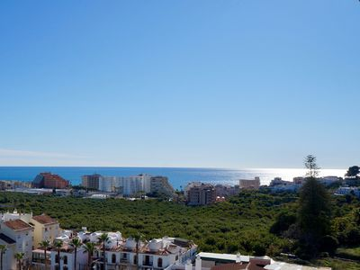 Photo for Beautiful sunny apartment - 2ch - Beautiful sea view, village and mountain
