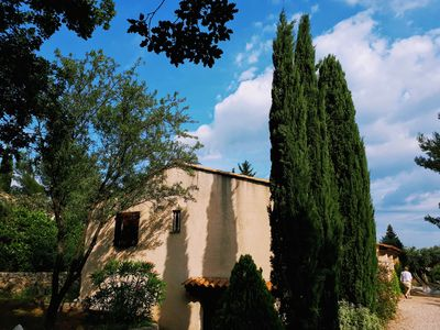 Photo for VILLA WITH SWIMMING POOL IN FLAYOSC VILLAGE PROVENCAL