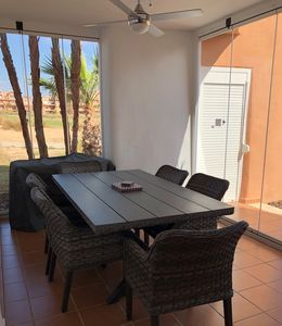 Photo for Ground floor 3 bed luxury apartment  perfect for families and golfers  