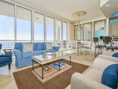 Photo for Brightly colored beachfront getaway w/private balcony! 🏖️