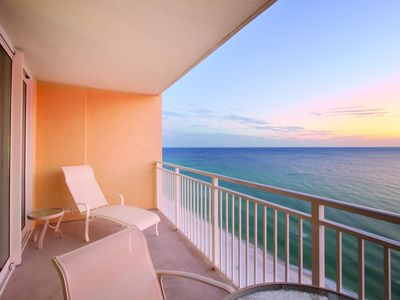 Photo for Beach Front One Bedroom Condo at Panama City Beach (A418)