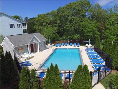 Photo for Price Drop for End of August!  Pool, Pond View, All 5-star Reviews, Walk to Town