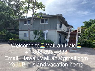 Photo for MaiLan Hale. Apt A. w/ Balcony & Ocean Sunset View, Great Location