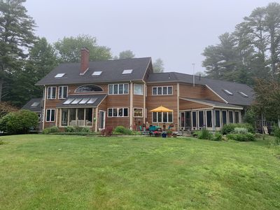 Maine estate home with only three suites available - super private