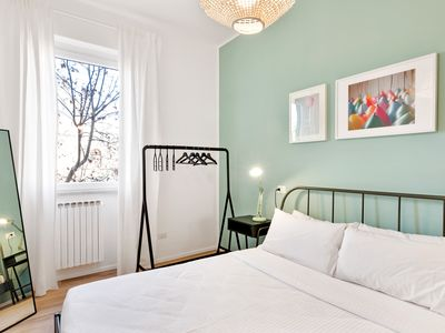 Photo for Modern and bright 2 bed flat near Vatican Museums