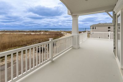 3rd Floor Deck - Fantastic Ocean Views