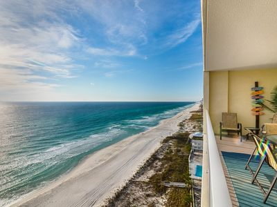 Photo for Beachfront Condo Beautifully Updated with Beach Service, Free Hi Speed Wi-Fi