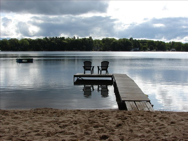 waterfront wisconsin the week a for on along vrbo br michigan silver rentals cottage torch house in sandbar mi superior vacation cabins rental channel lake township quiet sale