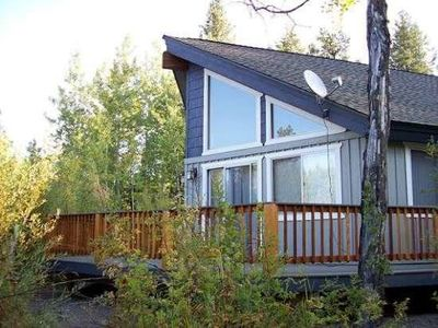 Photo for Lovely spacious cabin with golf nearby, walking distance to lake, Club Cabin