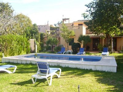 Photo for 3 bedroom Villa, sleeps 4 in Pollença with Pool, Air Con and WiFi