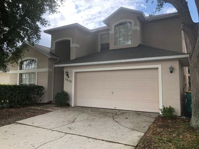 Photo for Beautiful 6 Bedroom home near Disney