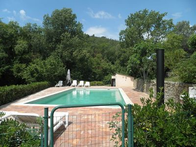 Photo for Mas has 5 bedrooms Callian, completely restored with swimming pool, 9000m2 garden