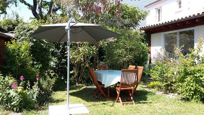 Photo for City and sea House 125m2 with pretty enclosed garden, 3 ch / 6 or 7p