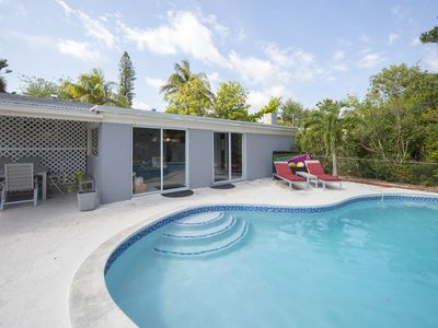 Photo for North Miami Beach villa with pool & grill. Ideal for families! Minutes to beach!