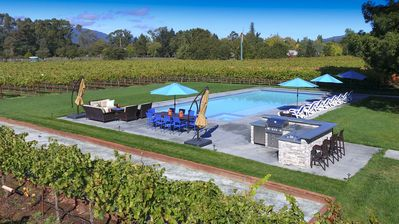 Photo for 2+ Acres w/ Vineyard, Pool, Spa, Bocce Court, Firepit.  1+ Mile to Sonoma Square