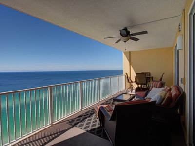 Photo for Unit 2102: Oceanfront - Gorgeous - 2 Parking - Quiet West End of PCB
