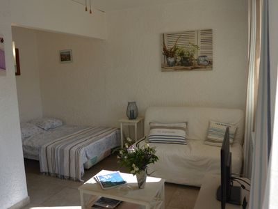 Photo for Studio Center Cavalaire 3pers near shops and sea