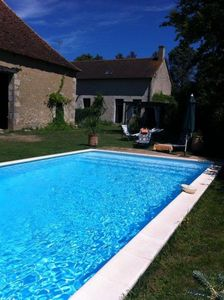Photo for Independent house, your private pool. Access BEAUVAL, FUTUROSCOPE