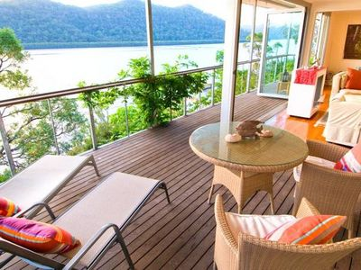Photo for LATITUDE 33 . Hawkesbury River . ARRIVE BY BOAT . Spectacular  Waterfront  Views