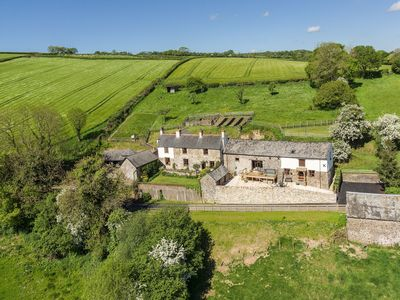 Photo for Bartridge Cottage with Private Indoor Pool, Hot Tub spectacular views sleeps 5