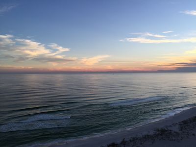 Photo for Gorgeous 2 Bedroom/2 Bath Condo Right On The Gulf Of Mexico @ Pensacola Beach