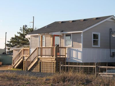 Photo for Pet Friendly, Easy Beach Access, Sound Views! Character, Beautifully Renovated!