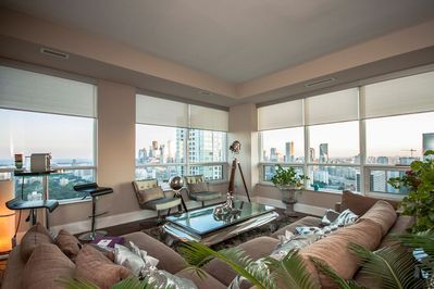 Super Spacious Living Area on 30 th Floor with. 270 degree Views