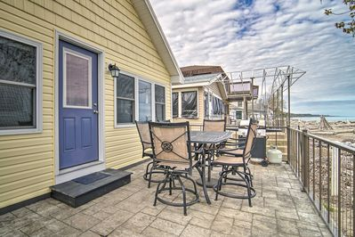 Take in the view from this Erie home on the lake!