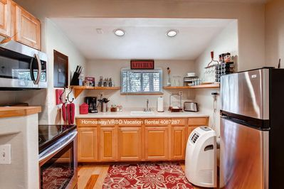 Full kitchen with all necessities included