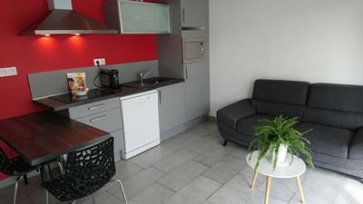 Photo for Apartment 3 * comfortable terrace and parking - 20 min from Aix les Bains (104