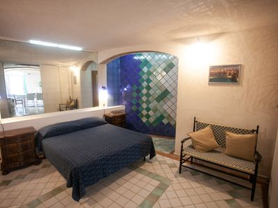 Photo for Le Grotte: nice apartment with sea view.