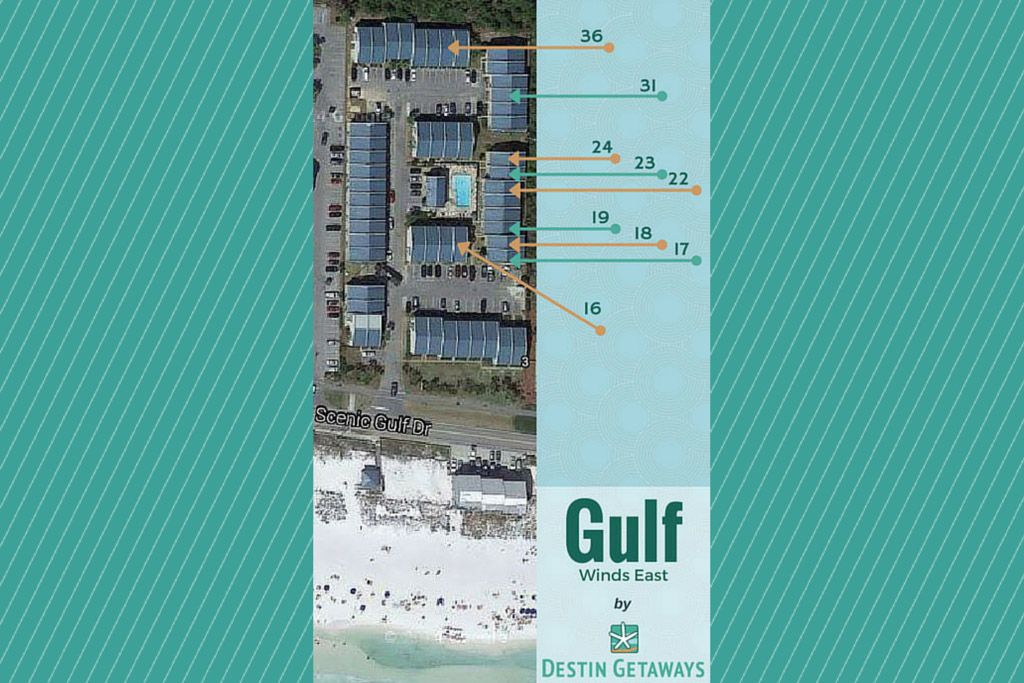Gulf Winds East #22 Across From The Beach! Free Golf & Parasailing!!