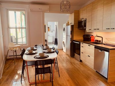 Photo for ★ NEW - Giant Montreal nest with 5 closed bedrooms ★ MTL life - @Frontenac94