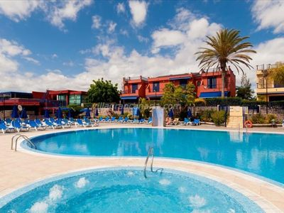 Photo for Meloneras Apartment, Sleeps 4 with Pool and Air Con