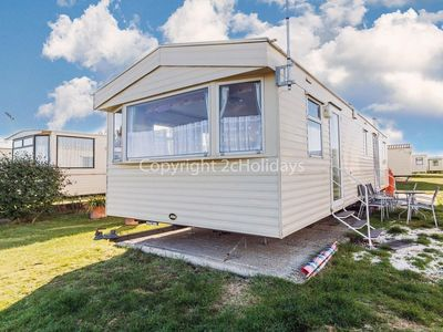 Photo for Martello Beach holiday park near Clacton on sea 8 berth static caravan ref 29026