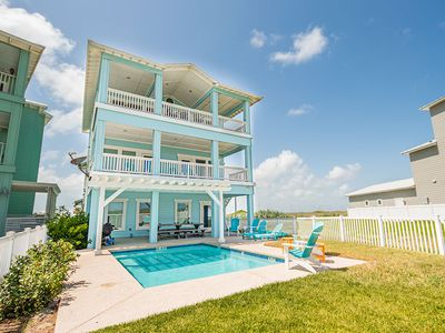 Photo for Beach-A-Holic: Private Pool, Boardwalk to Beach, OCEAN VIEWS, Free Golf Cart