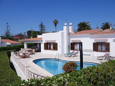 Photo for Elegant and spacious Villa close to the sea for 8 people