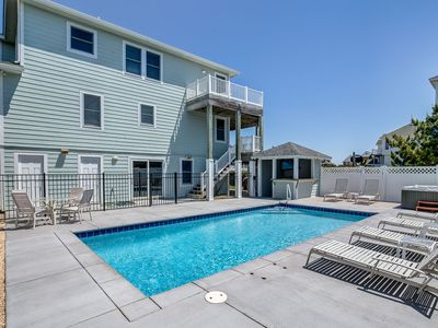 Photo for Bella Vista | 425 ft from the beach | Private Pool, Hot Tub | Duck