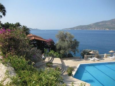 Photo for Private seafront villa, in exclusive resort with full amenities