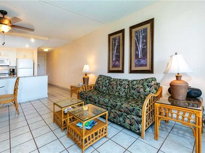Photo for Kihei Akahi One bedroom condo with sofa bed sleeps up to four people in South Kihei. D-209